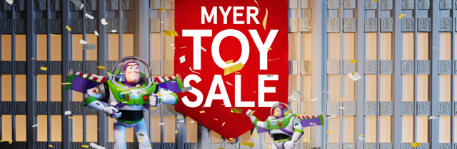Toy Sale - Myer